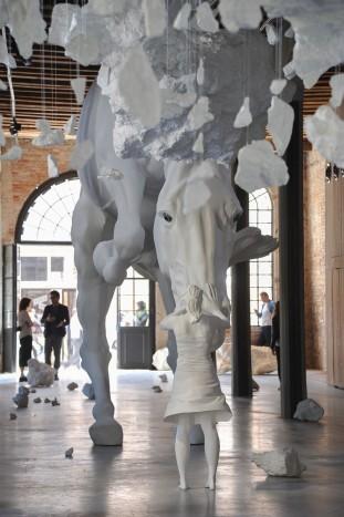 Venecia, 12.05.17. Inauguración pabellón argentino en la 57 Bienal de Arte de Venecia.