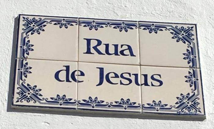rua de jesus - azulejo